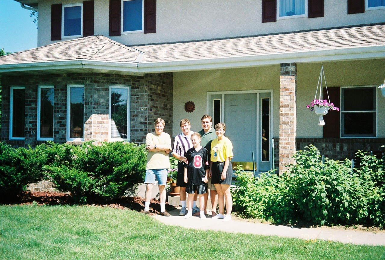 Minnesota, Ann's home, 2004