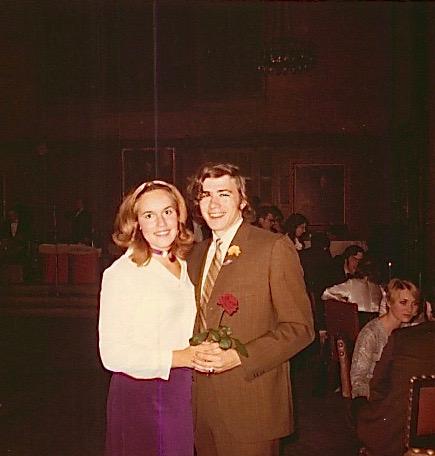 Lorraine Gudas & John Wagner, 1971 Princeton Univ. dance