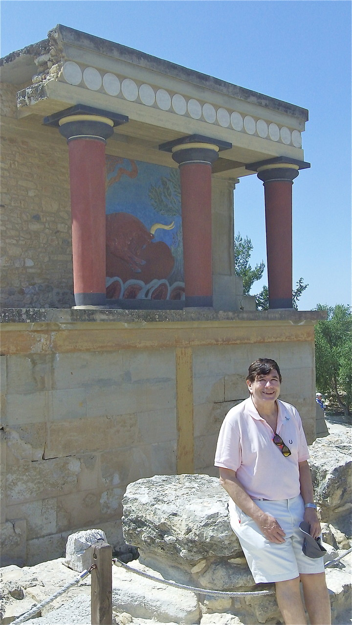 John at Knossos Palace