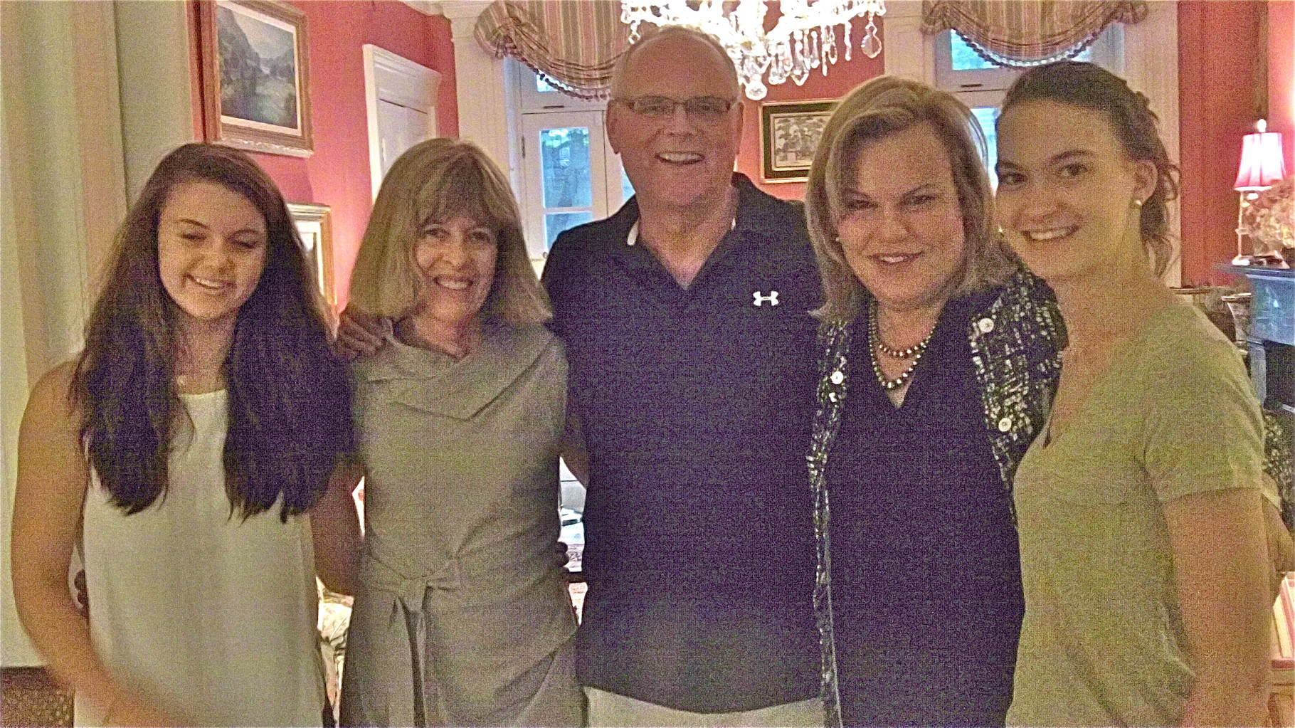 Nancy Hynes & Bernd Groner's visit to NYC, Jones Beach, Freeport, LI & more!   July, 2015  Kate, Nancy, Bernd, Celeste, Ellie