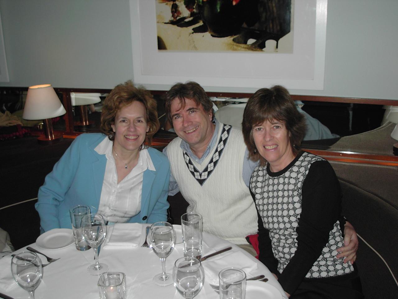 Lorraine, John, & Nancy 2005? NYC