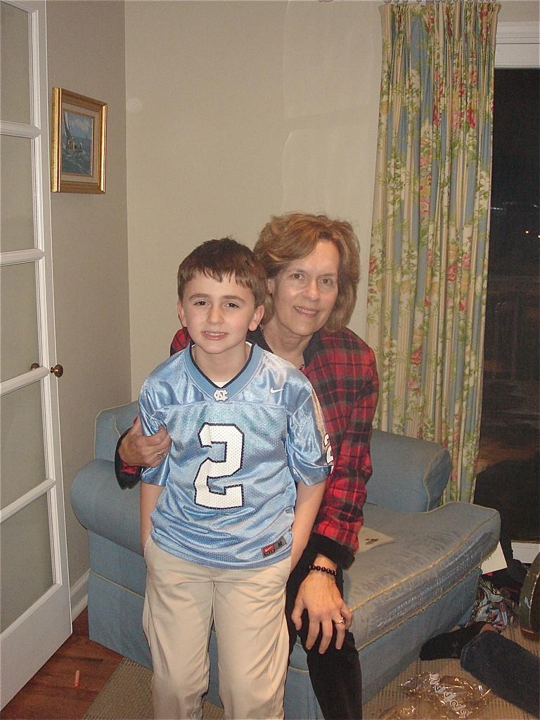 Stuey III & Lorraine Gudas, Xmas Day, 2013
