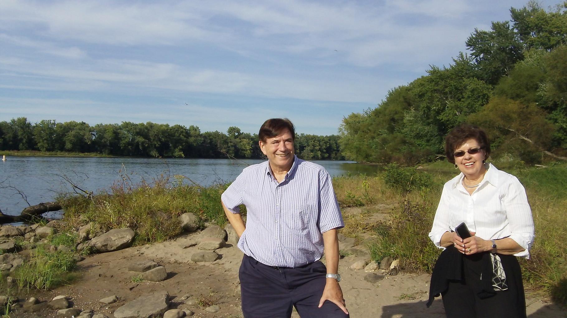 John and Kathy, Conn. River, Sept. 2015