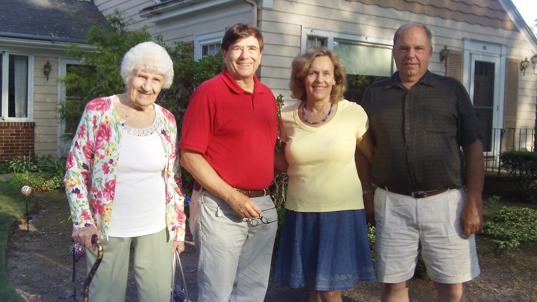 Detta, John, Lorraine, and Tom August, 2015 Pawtucket, RI