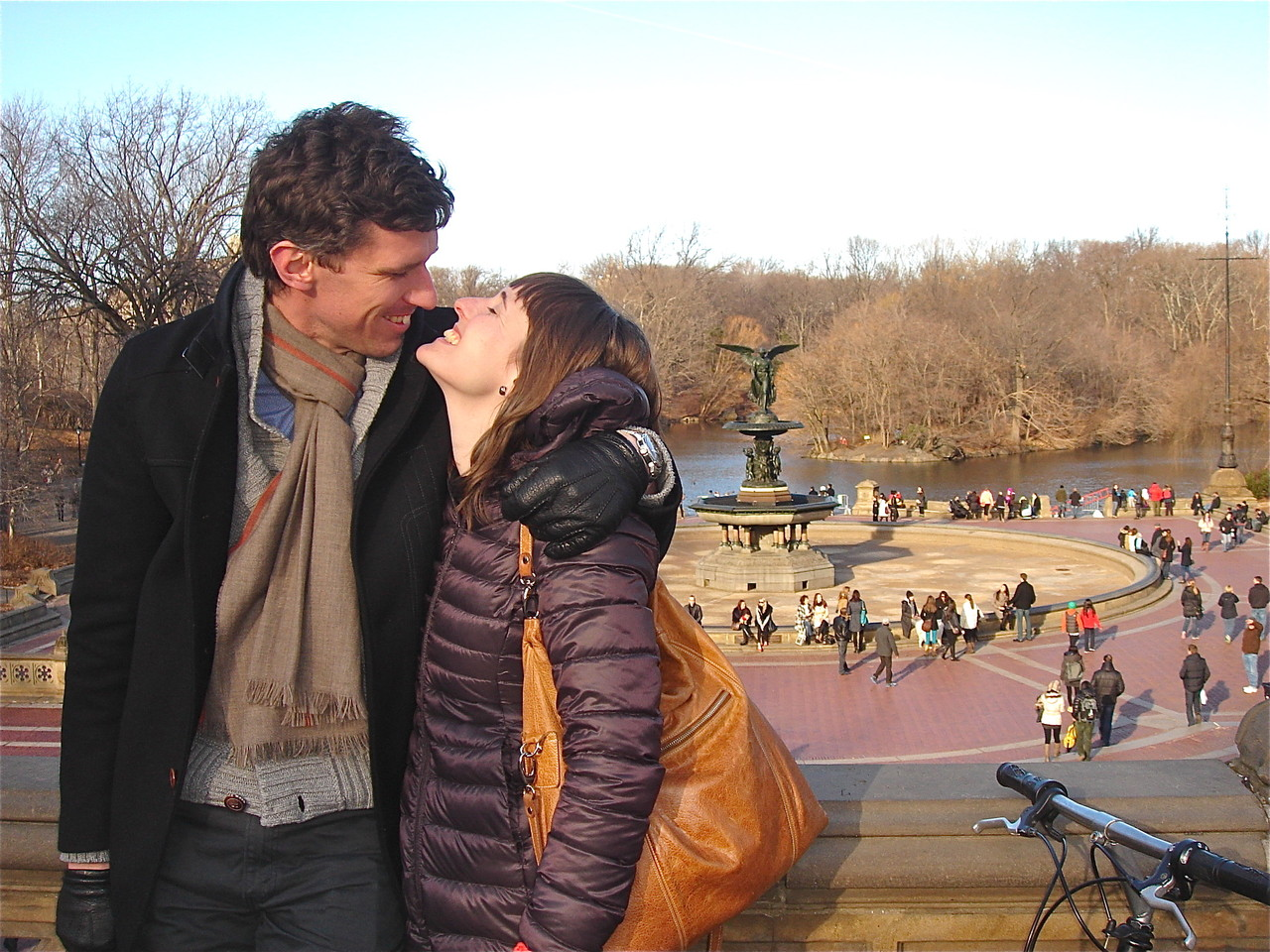 Patrick and Anna in Central Park, NYC