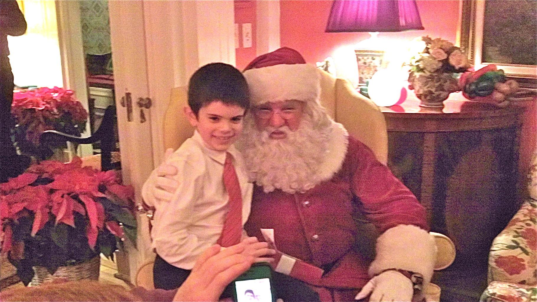 Sam Kagel & Santa