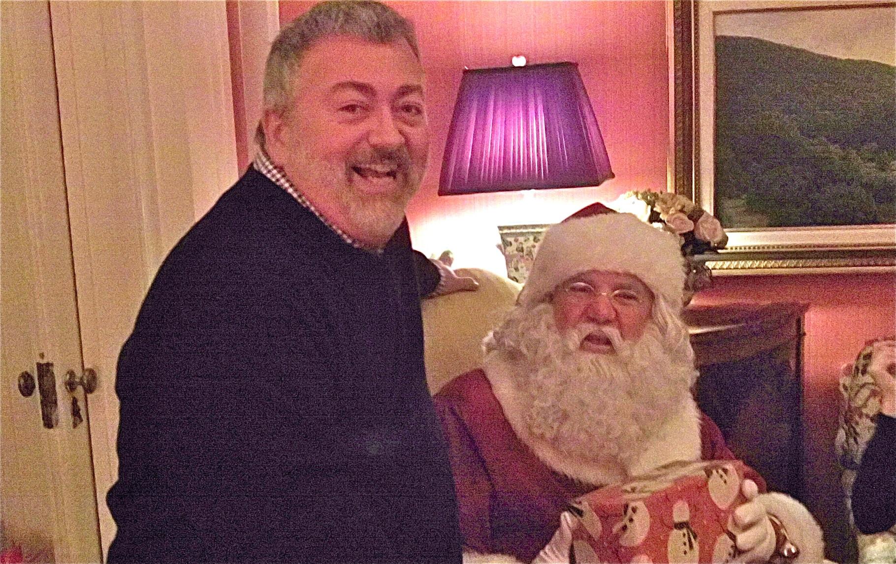 Matt & Santa