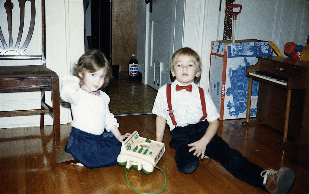 Casey and Greg about 1987