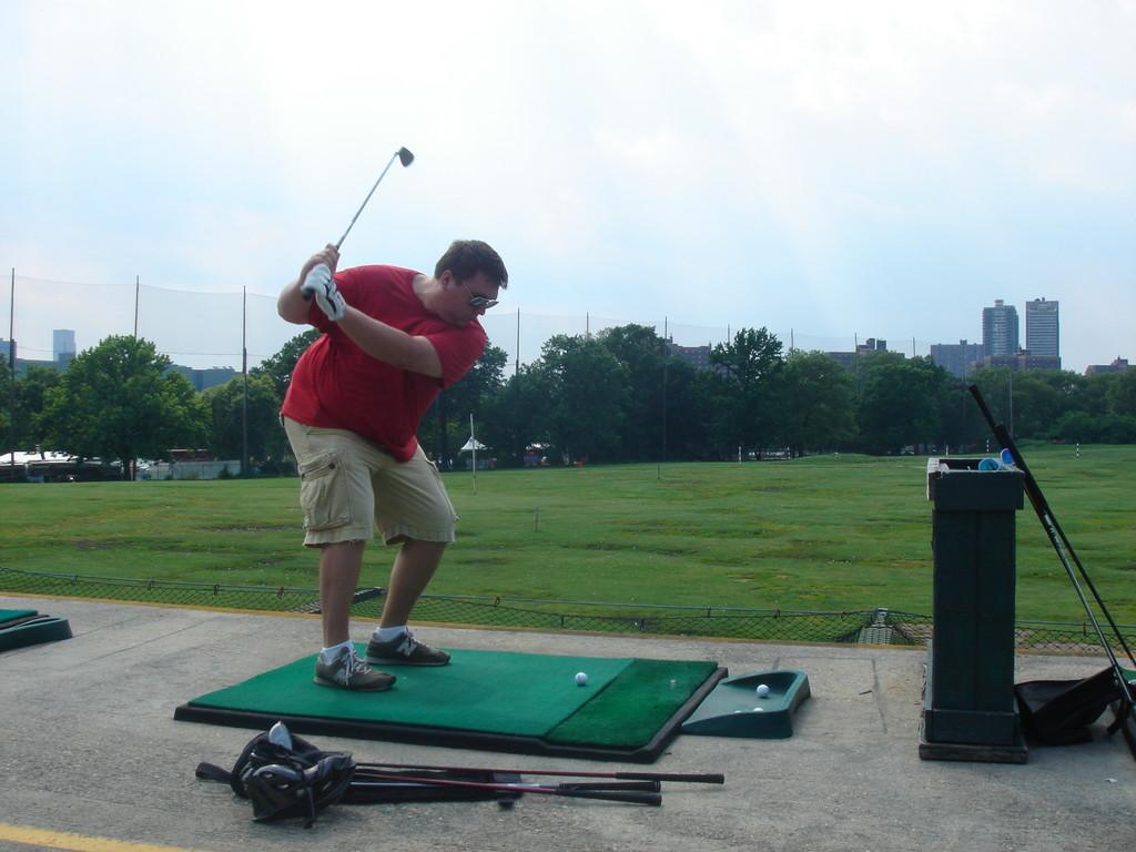 Greg swings