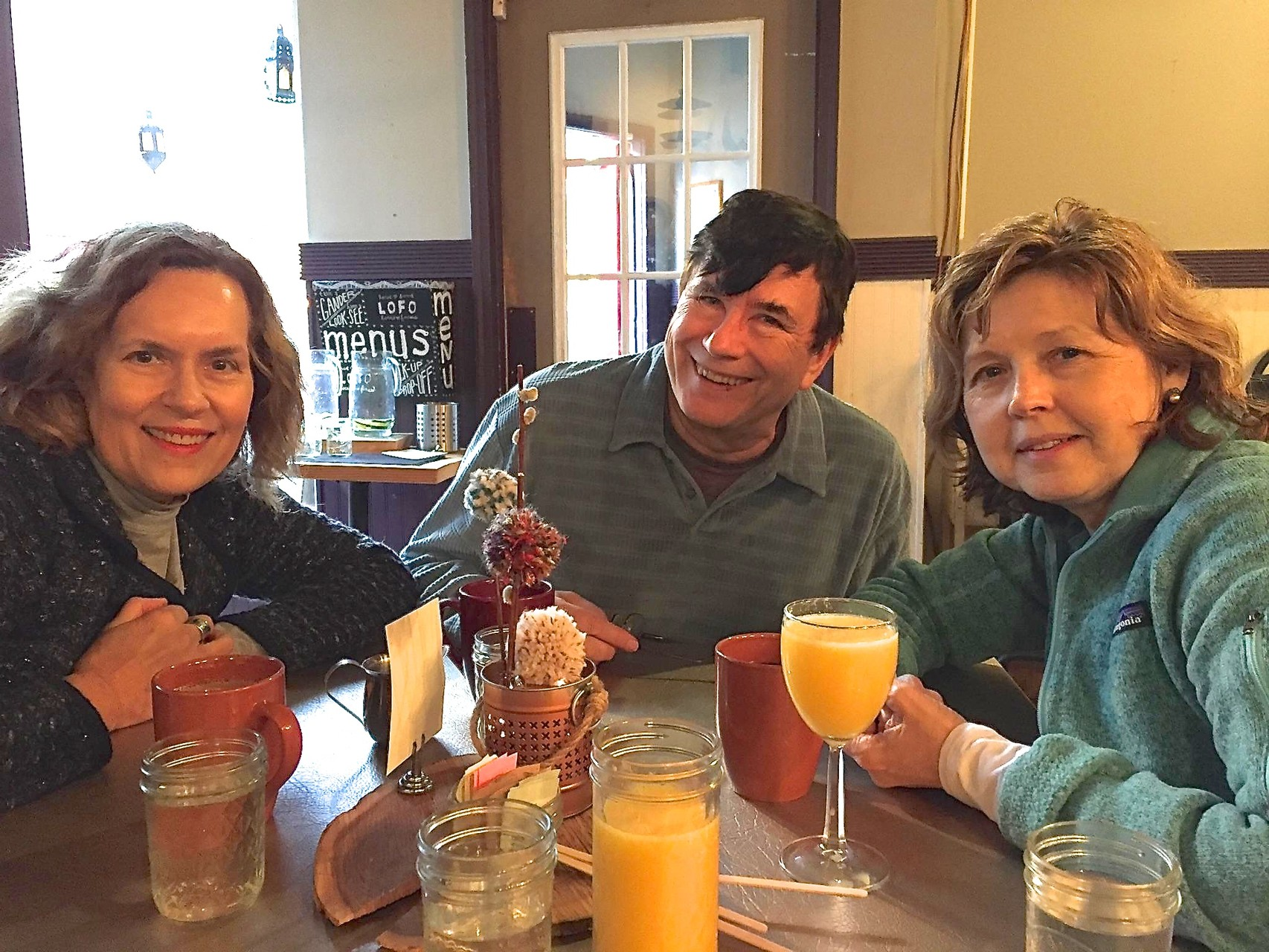 Lorraine, John, & Barbara at LoFo, Syracuse NY for Brunch