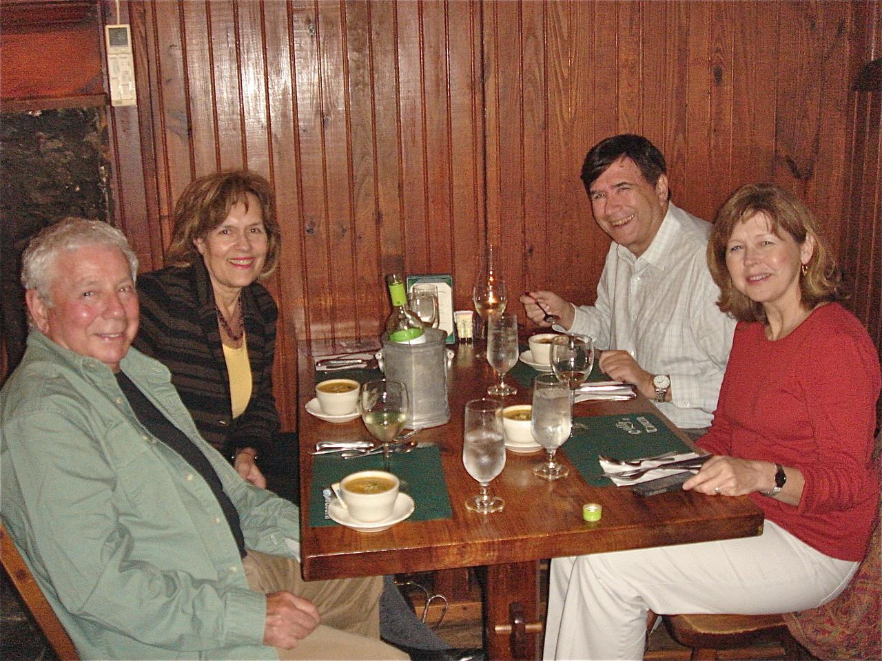 Don Fischman, Lorraine, John, & Barbara Lohse, State College, PA  fall, 2013