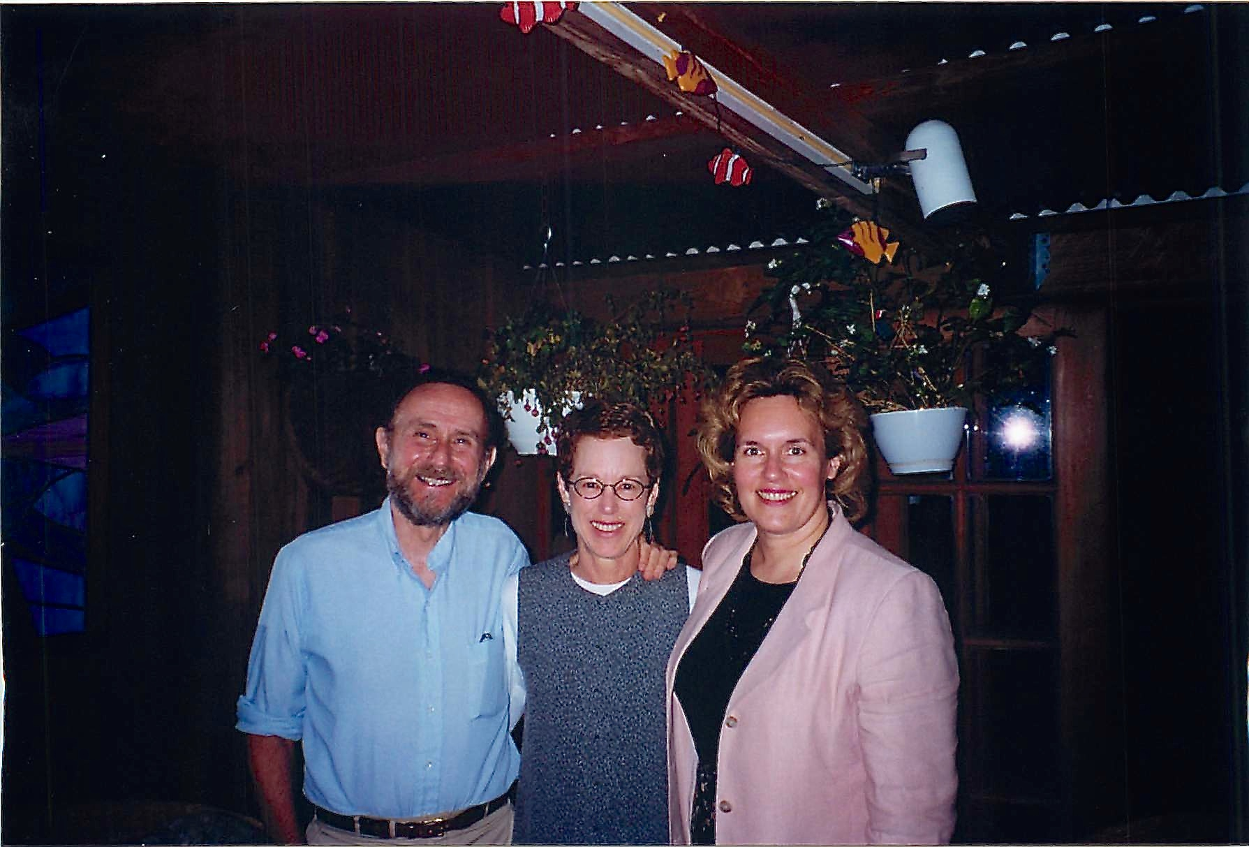 Warren, Barbara, & Lorraine 1998 NYC