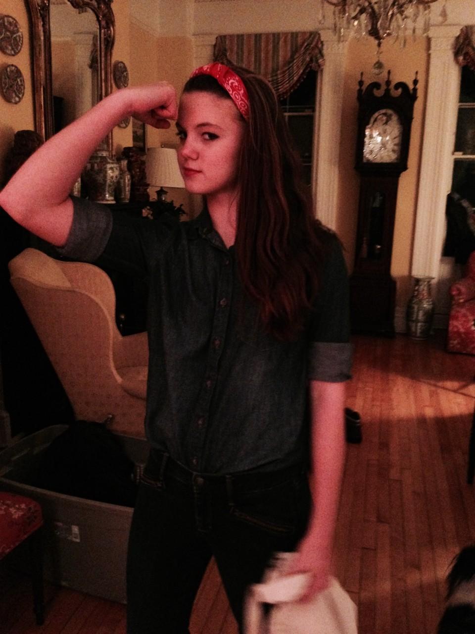 Kate, Halloween, 2014