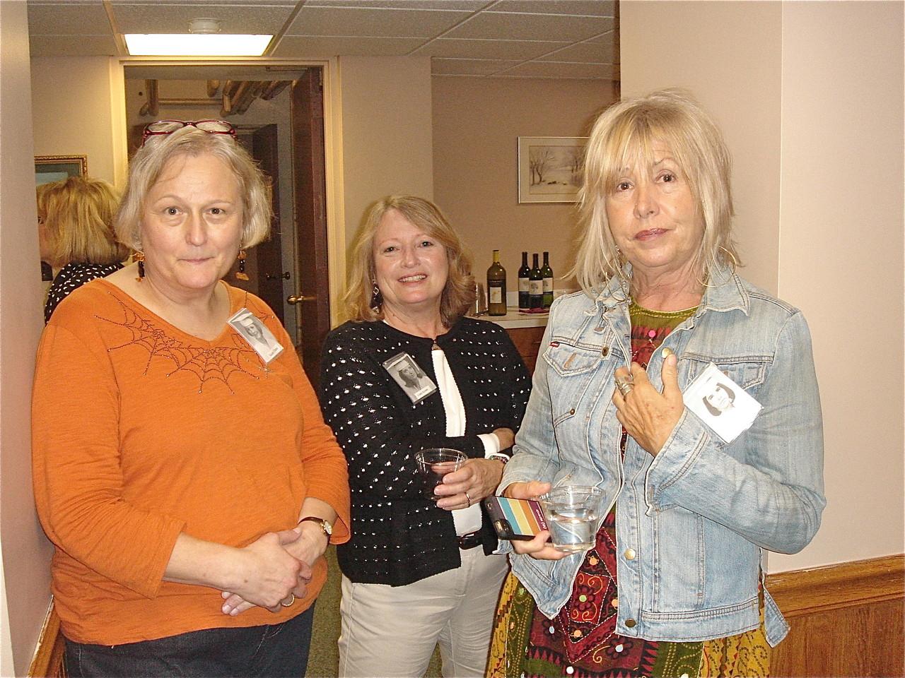 Susan Dame, Cathy Krisak, &  Maureen Anderson