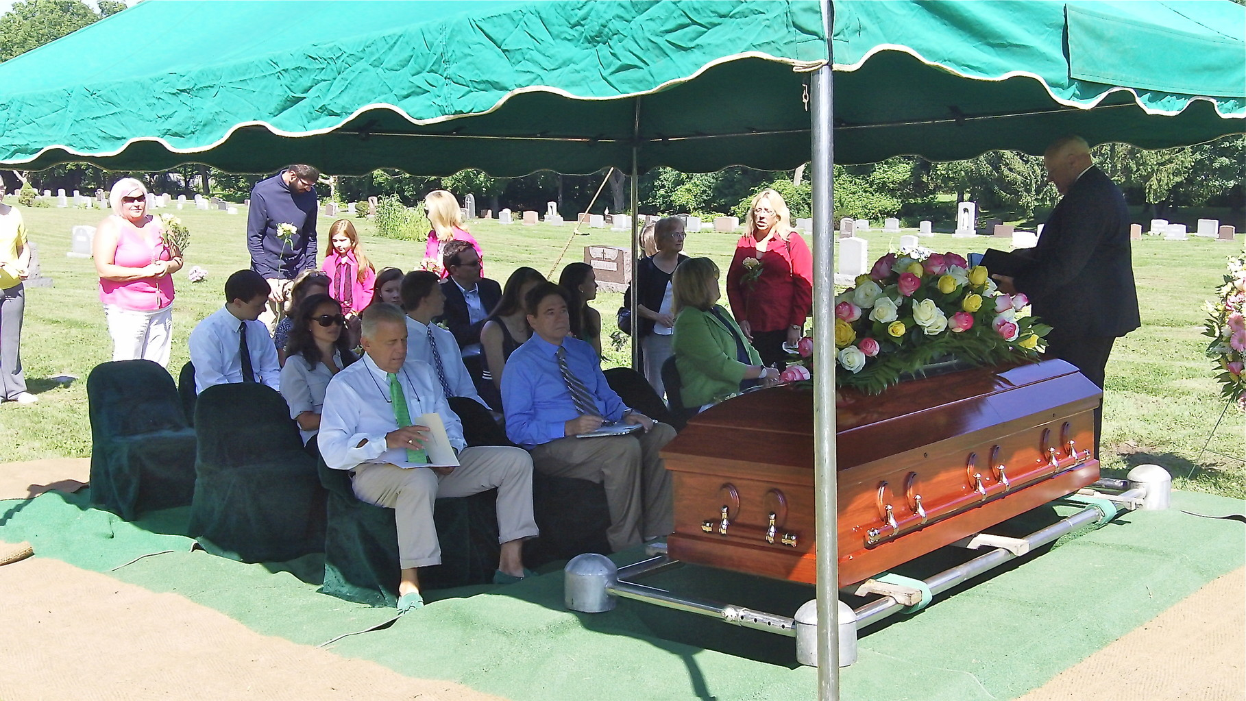 Funeral of Eleanor Bogden Gudas, August 19, 2014 St. Mary's Cemetery