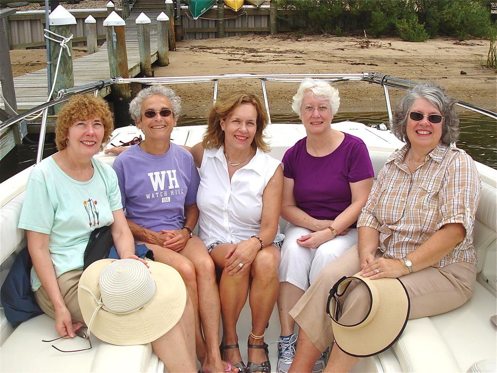 Judy Murphy, Kathy Meyer, Lorraine Gudas, Chris Powers, Betsy Buzash Pollert  8-2012