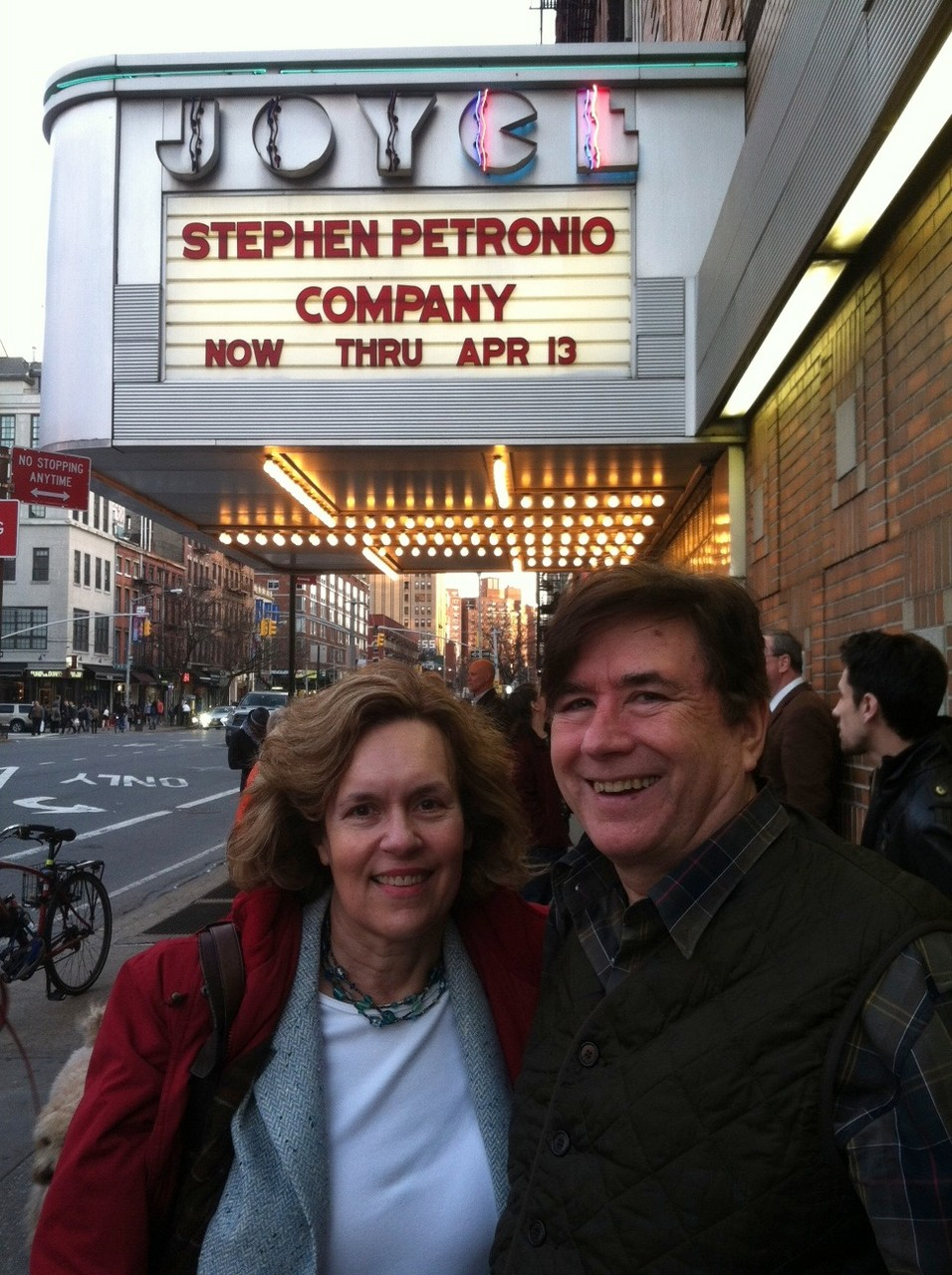 Lorraine & John attend a dance show, NYC