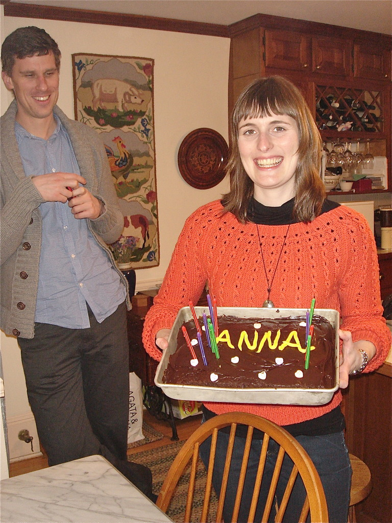 Anna's Birthday cake, Jan. 20, 2013!!