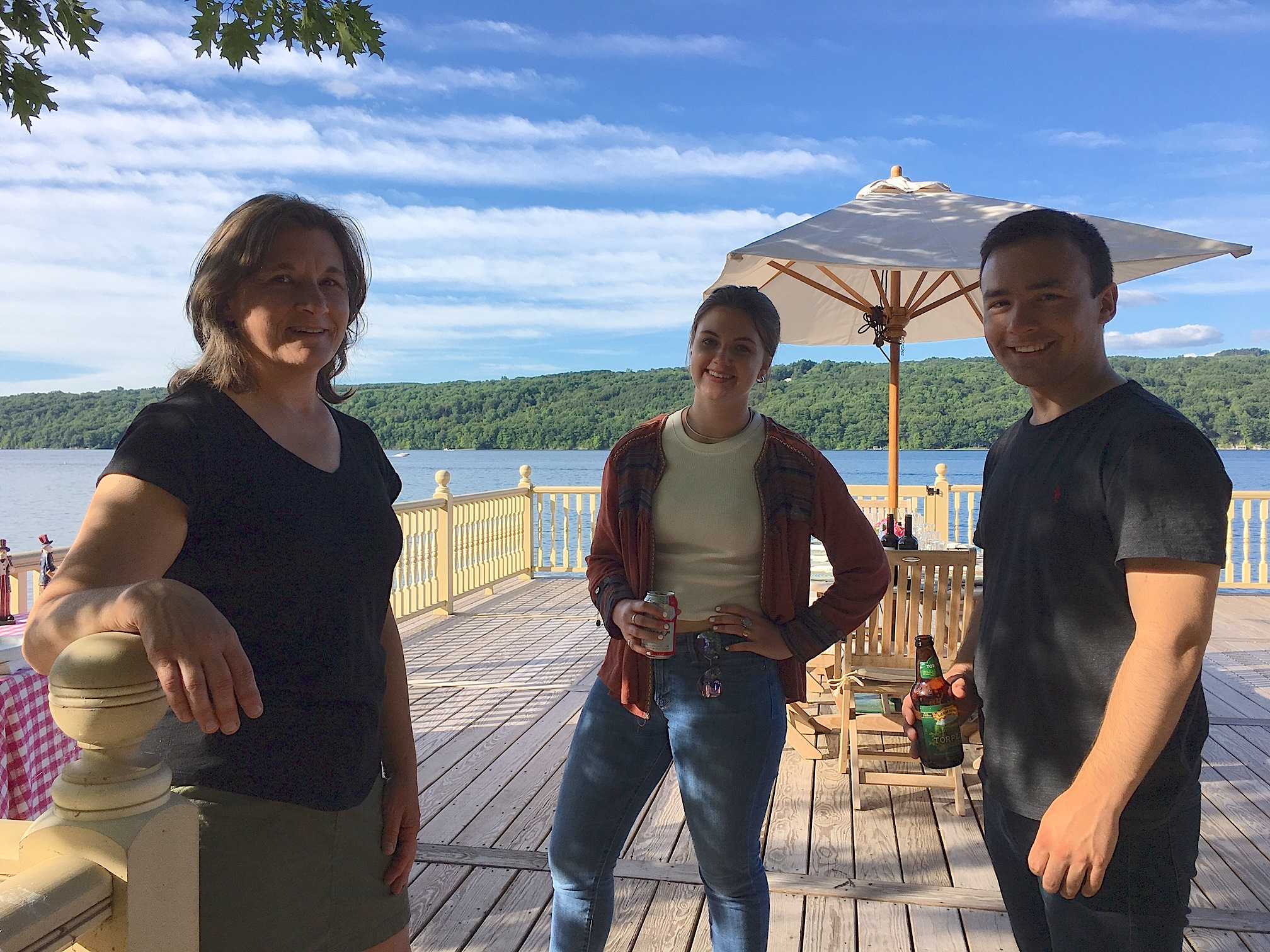 Cousin Cyndi Signorelli, Kate & Trevan Signorelli