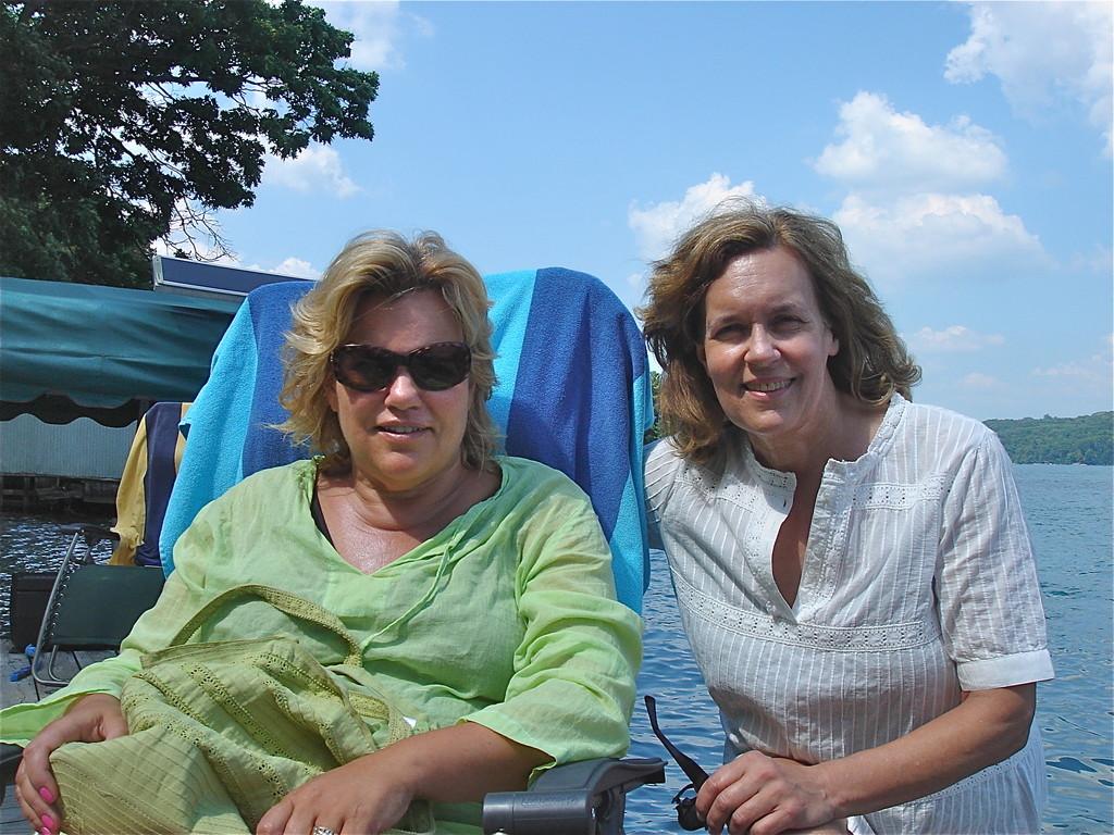Celeste & Lorraine  8-2012