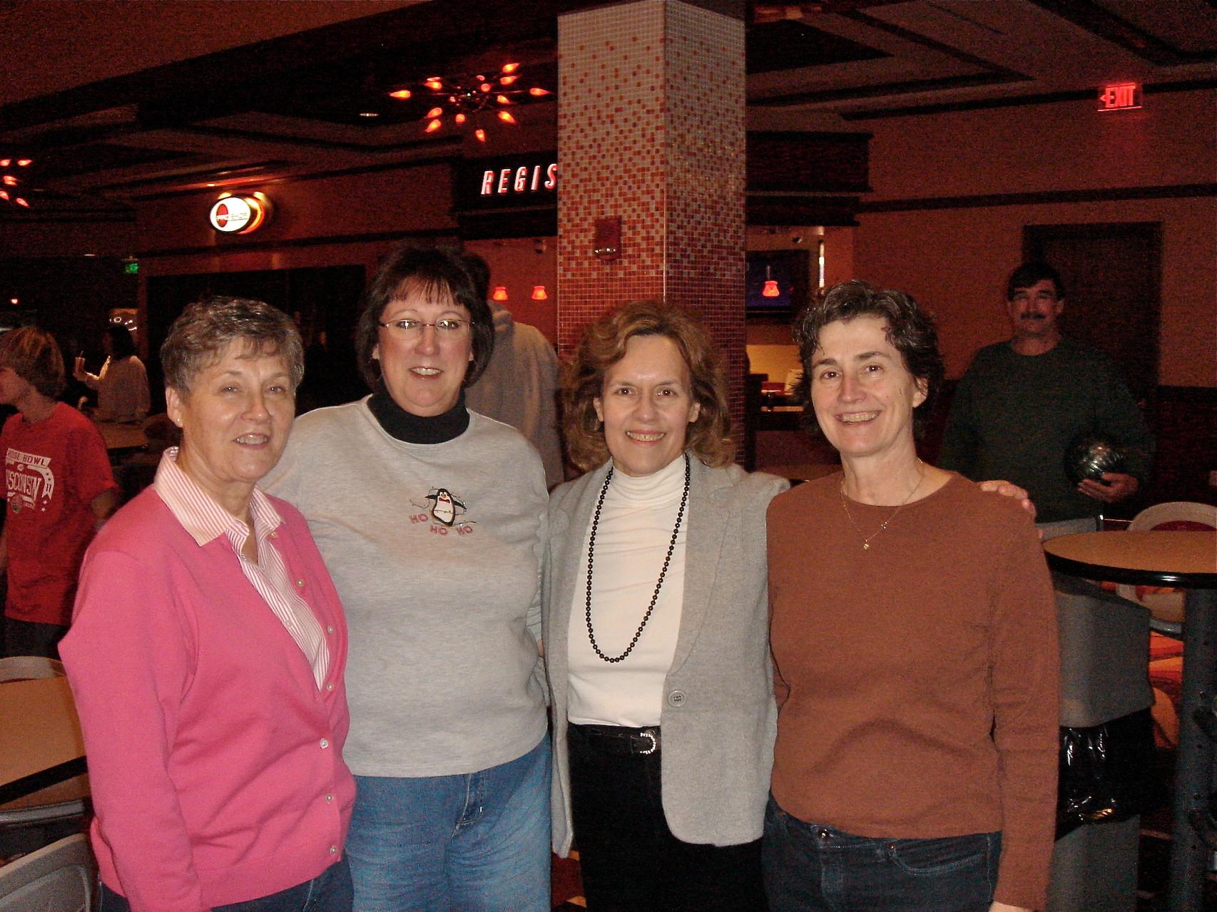Xmas, 2010, Cindy, Jill, Lorraine, Ann