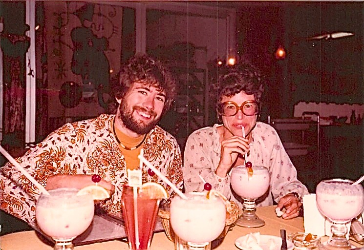 Cozumel, Mexico, John Wagner & Barbara Levinson March, 1979