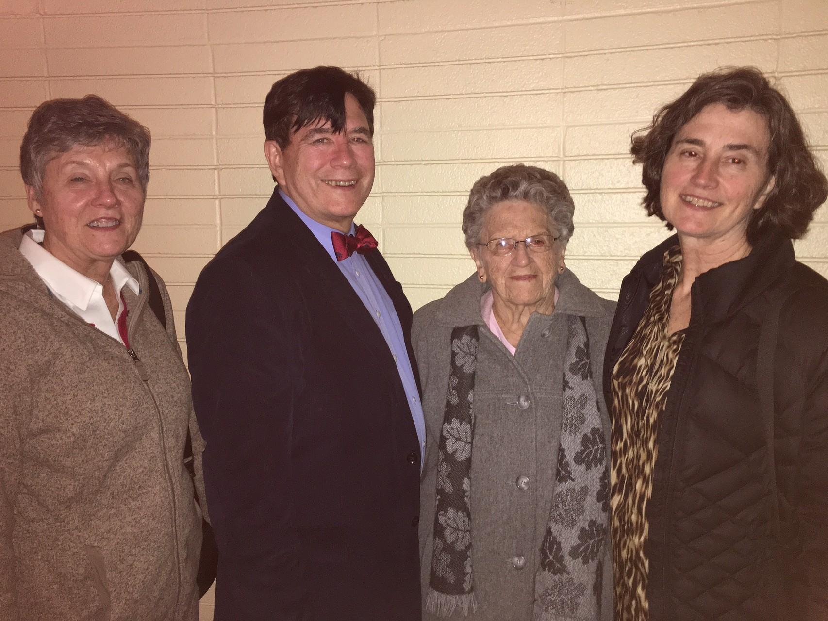 Cindy, John, Mary Lou & Ann Wagner