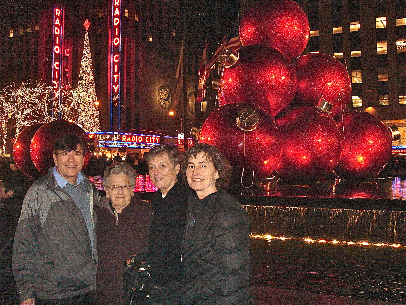 John, Mary Lou, Cindy & Ann in NYC