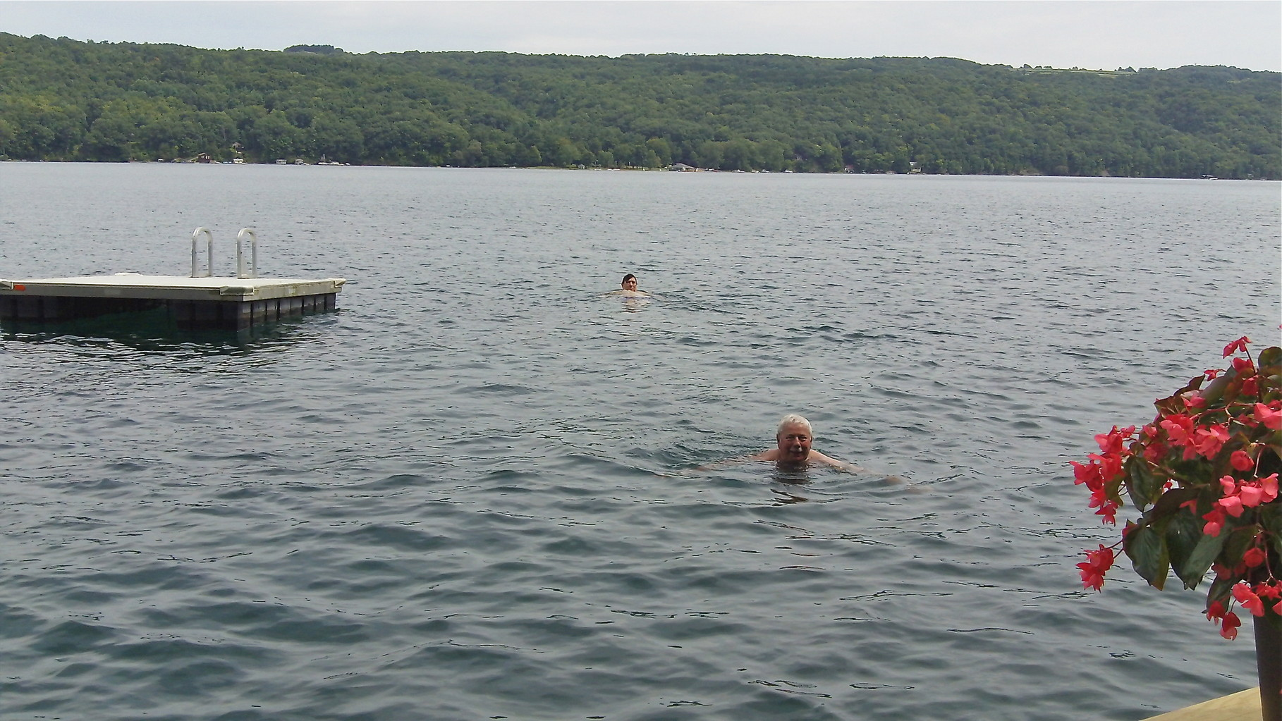 John and Don in the water!.