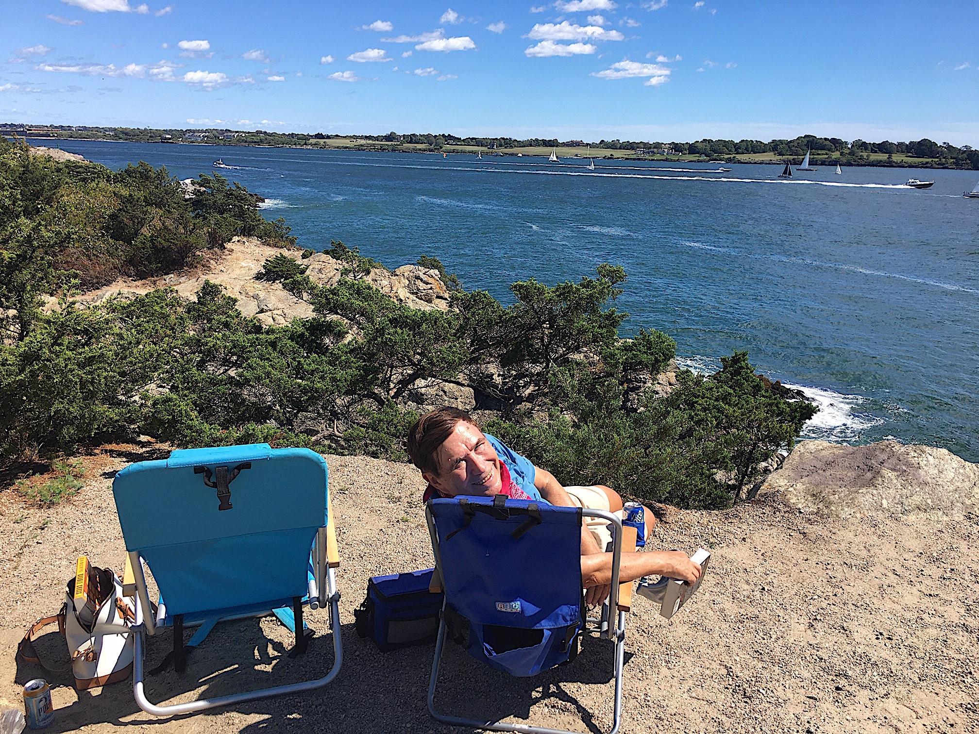 Jamestown, RI, overlooking Newport, RI  8-30-20