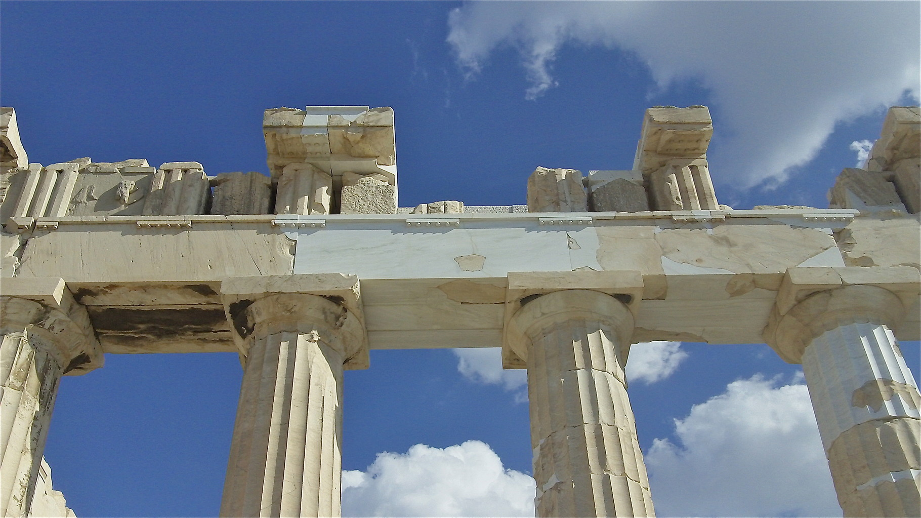 the Temple to the Goddess Athena, most powerful of the gods!