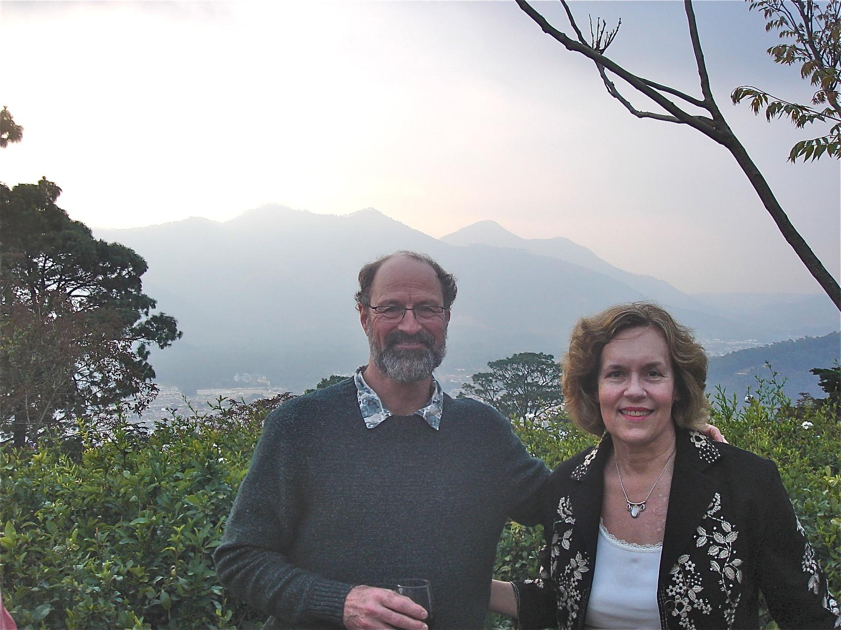 Rich Neubig & Lorraine Gudas, AMSPC Meeting