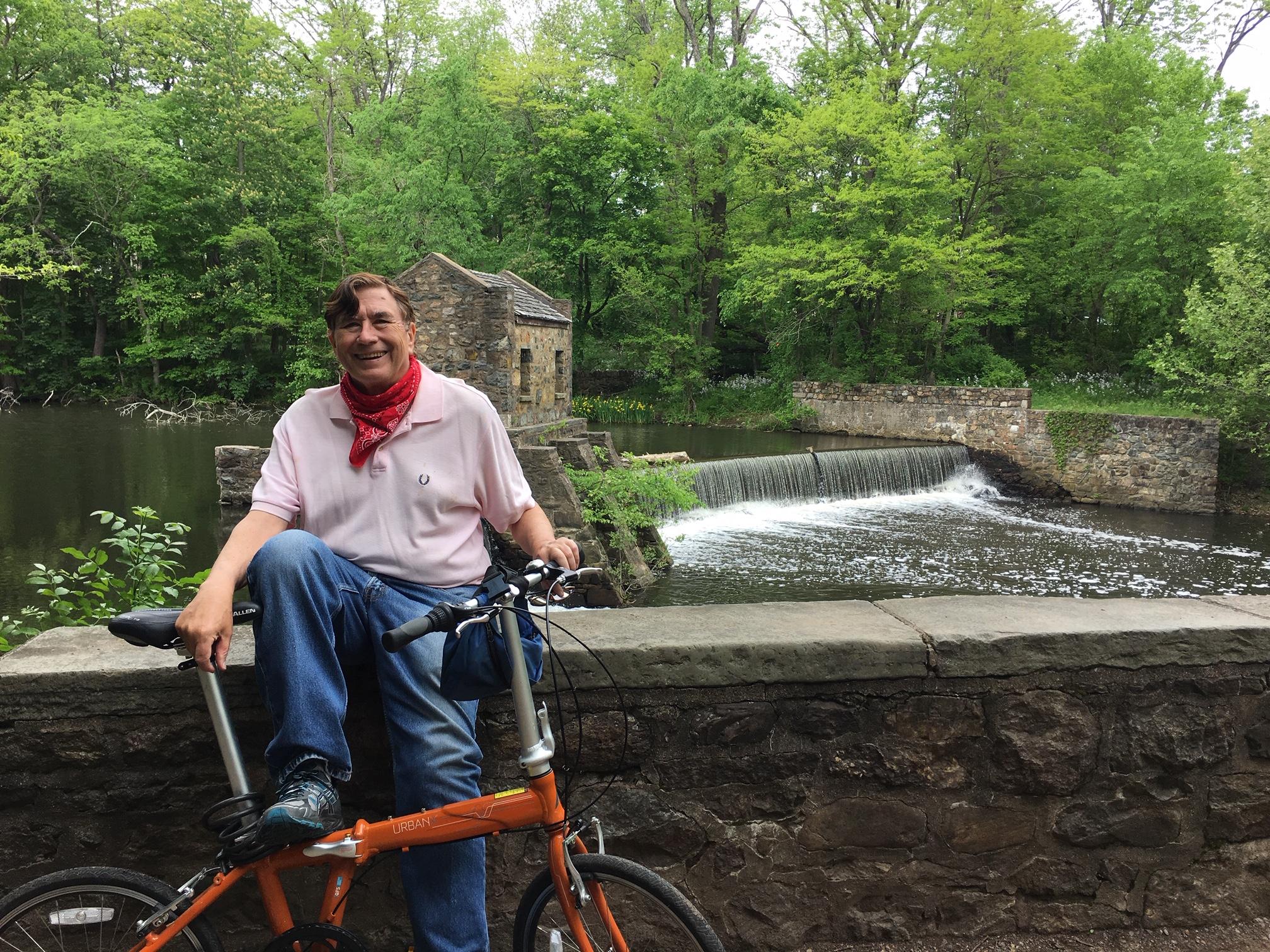 Biking in NJ, May, 2020