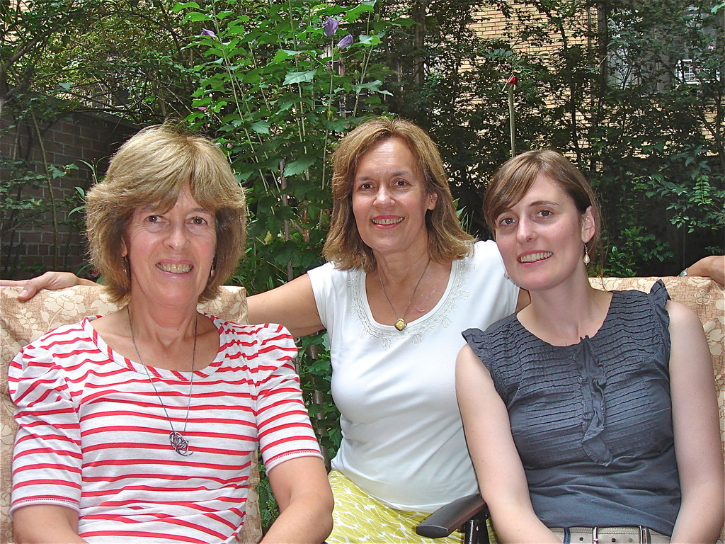 Nancy Hynes, Lorraine Gudas, Anna Groner  9-6-2012  NYC