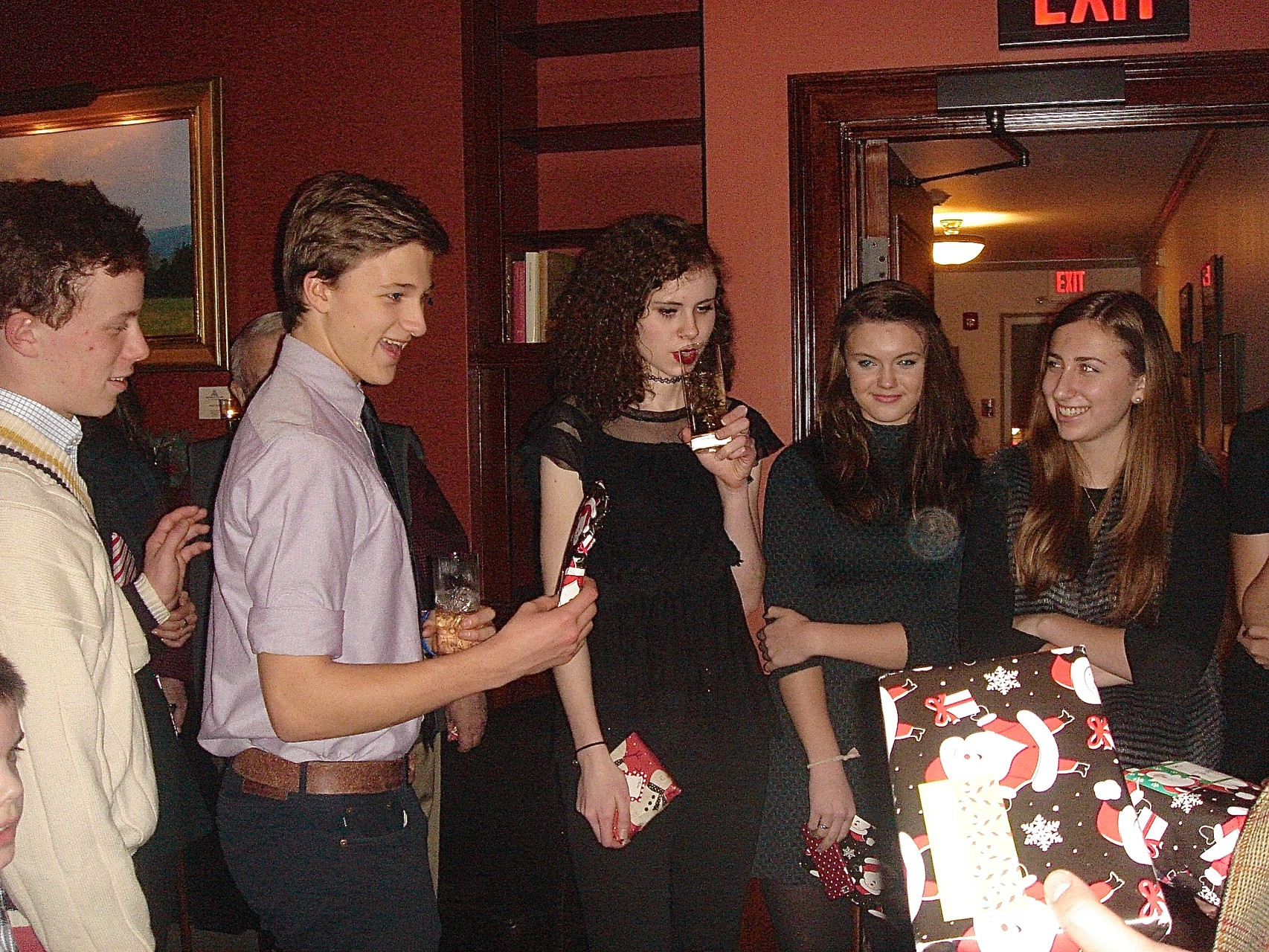 Liam, Jack, Erin, Kate, Emma