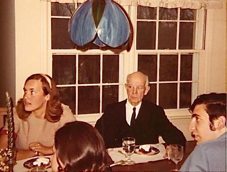 Lorraine Gudas, EC Kendall (Nobel Prize winner), & Murray Weingarten 1970? Princeton, NJ