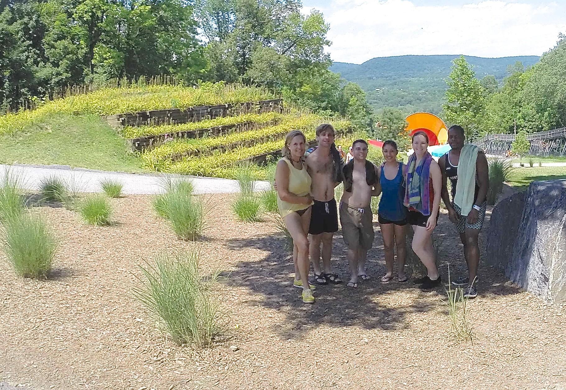 Gudas Lab Trip, July, 2015 Action Park, NJ Lorraine, Dan, Ryan, Cynthia, Abby, Kwame