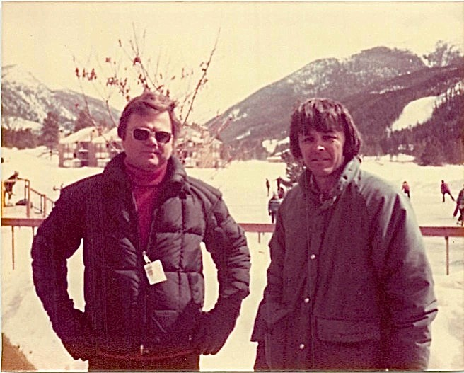 Bill Kelley & Dave Martin, Keystone, March 1980
