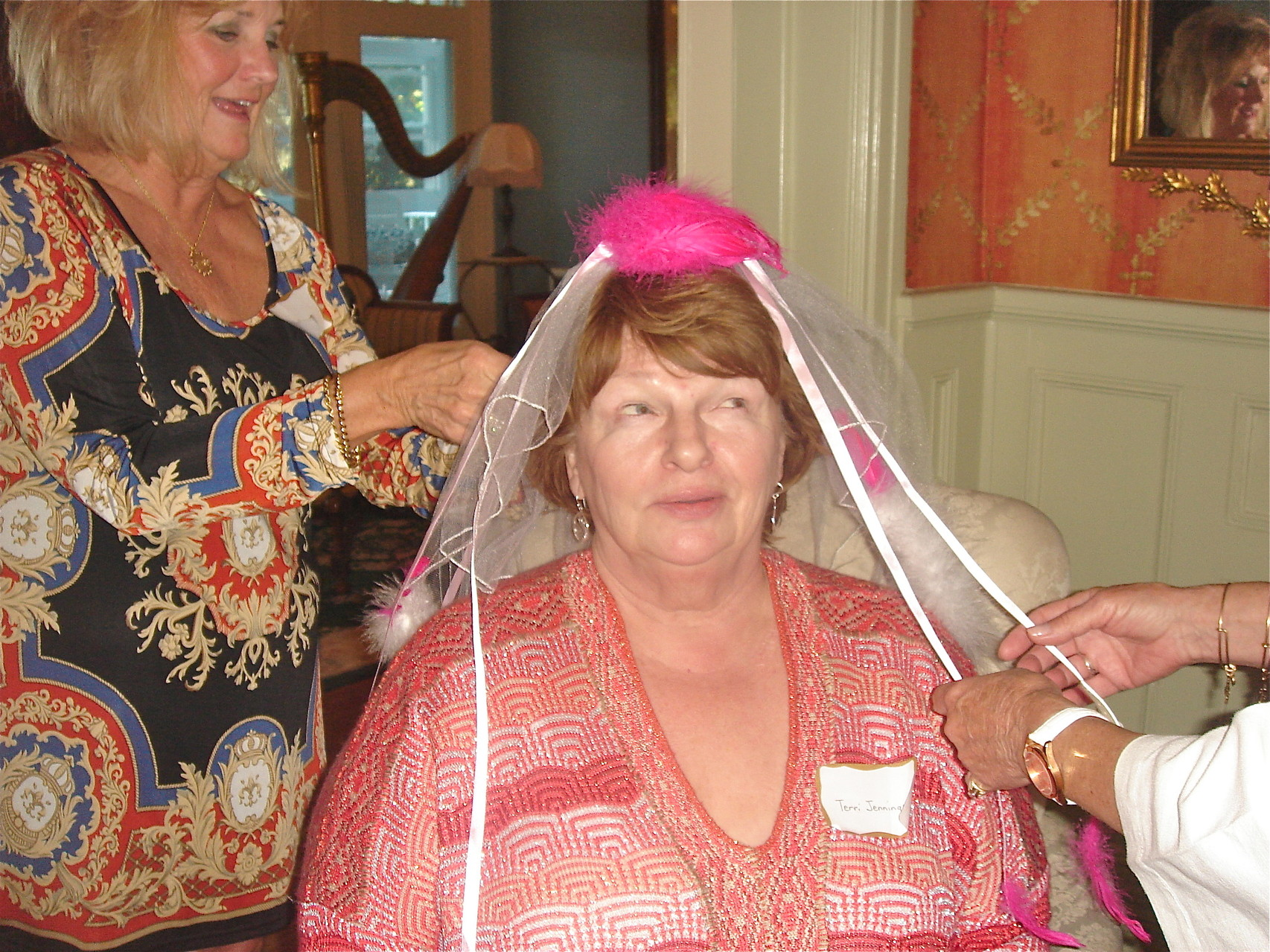 "Terri Jennings gets ready for her ""wedding"""