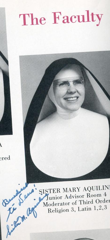 Sister Aquiline, Convent School