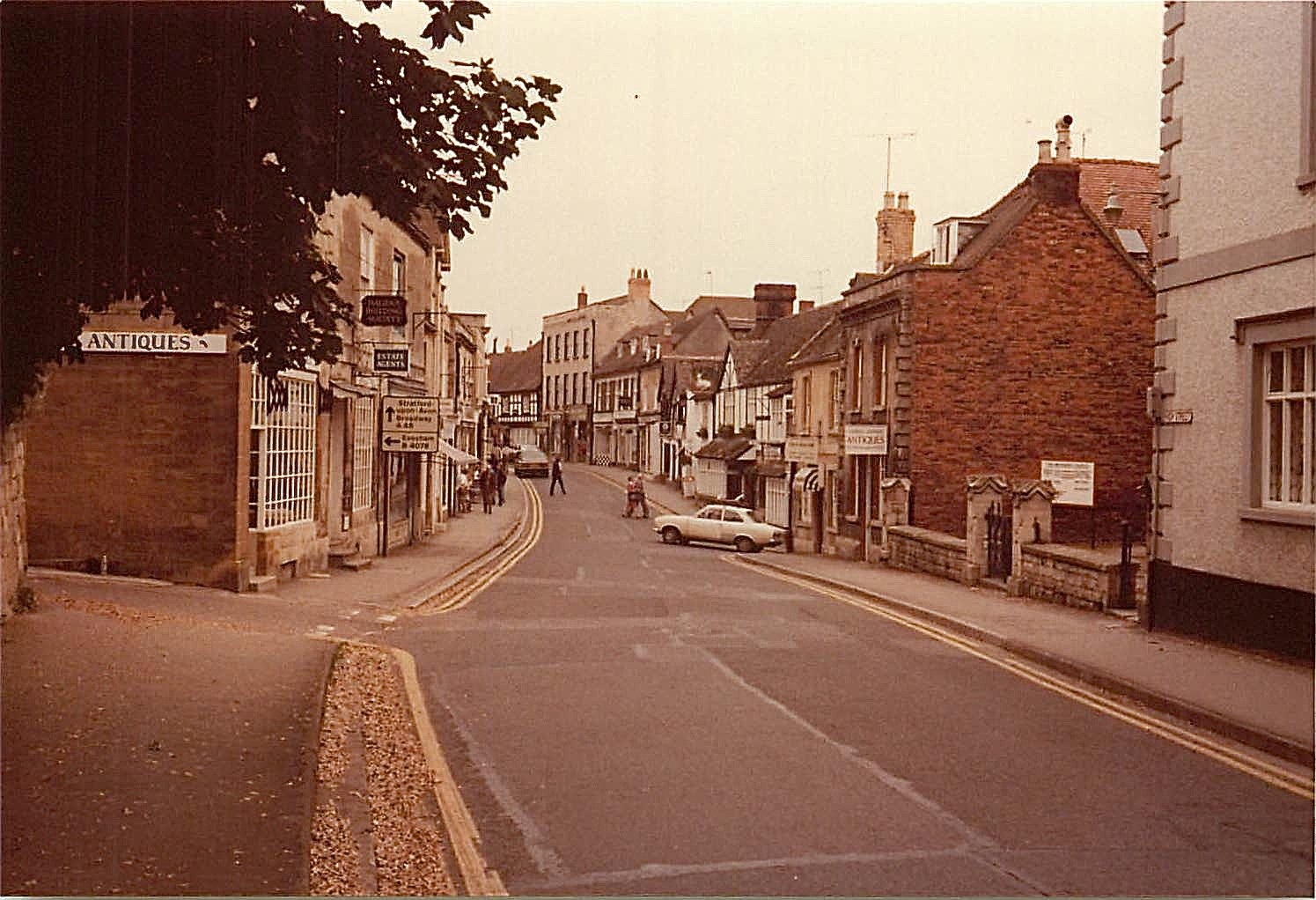 Cotswolds, England, 1979