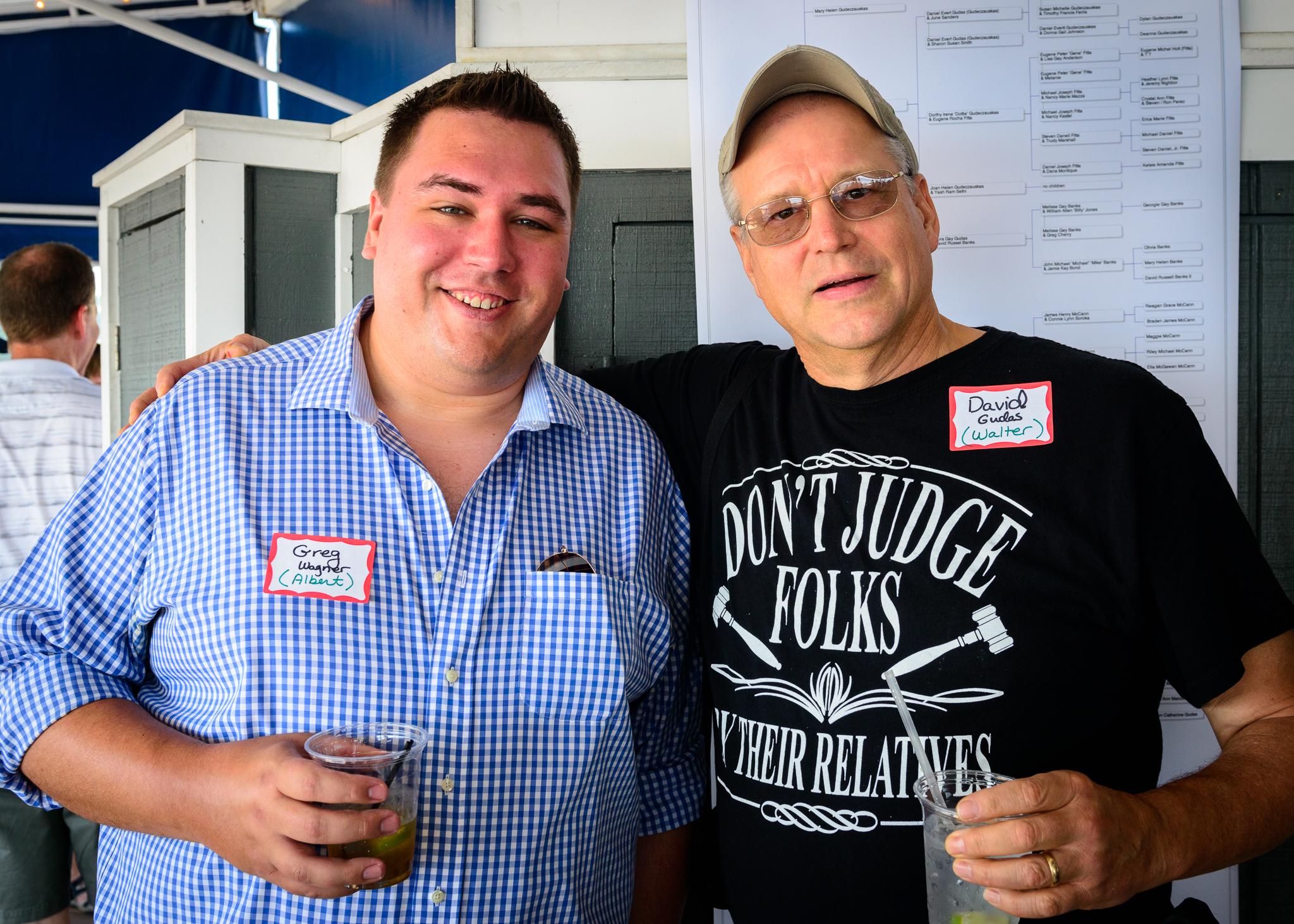 Greg Wagner (Al's grandson) & David Gudas (Walt's son)
