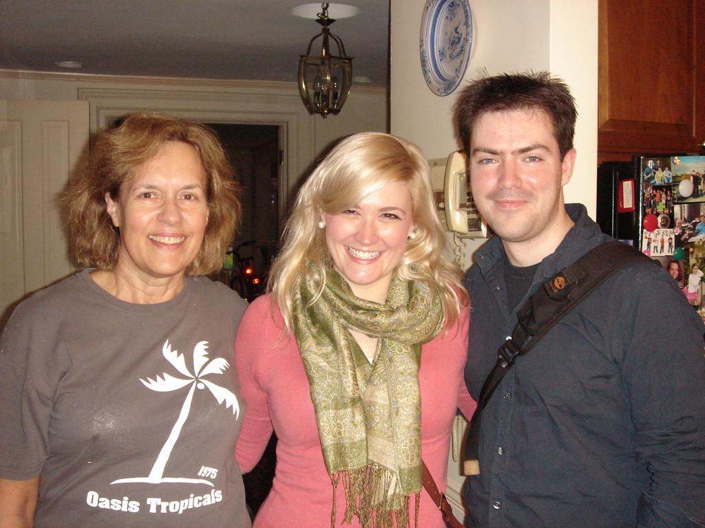 Lorraine, Amy, Boyfriend 2012 NYC