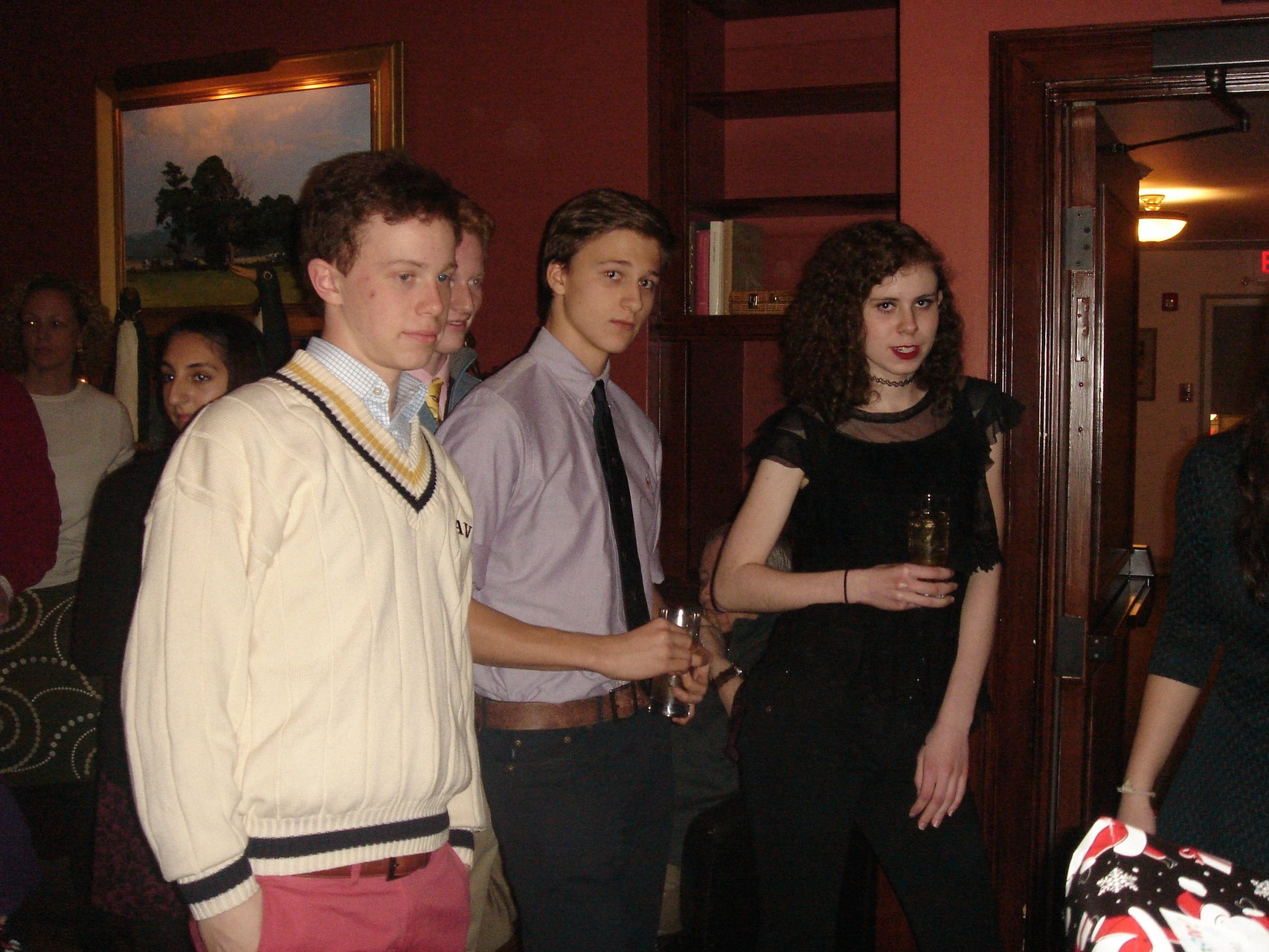 Liam, Noah, Jack, & Erin