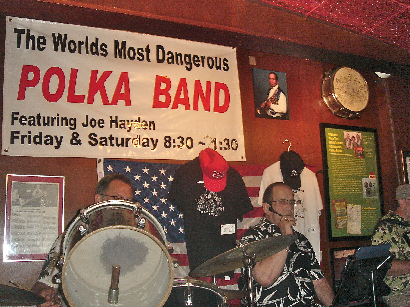 The Polka Band at Nye's