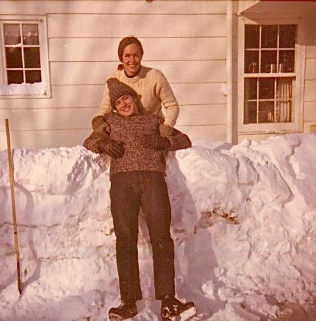 John Wagner & Lorraine Gudas, 1970, skating rink, Syracuse, NY