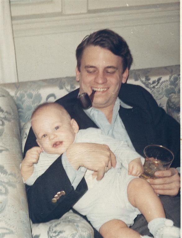 Stuart Kagel and son Stuart Jr.