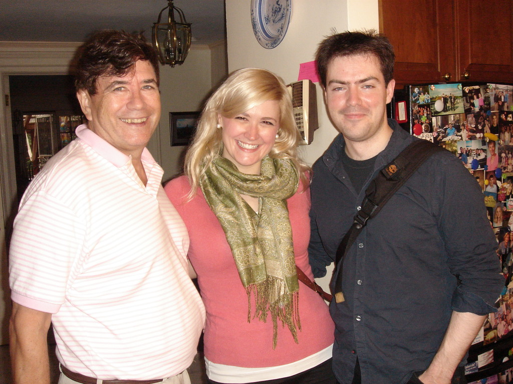 John, Amy, & boyfriend, James 2012