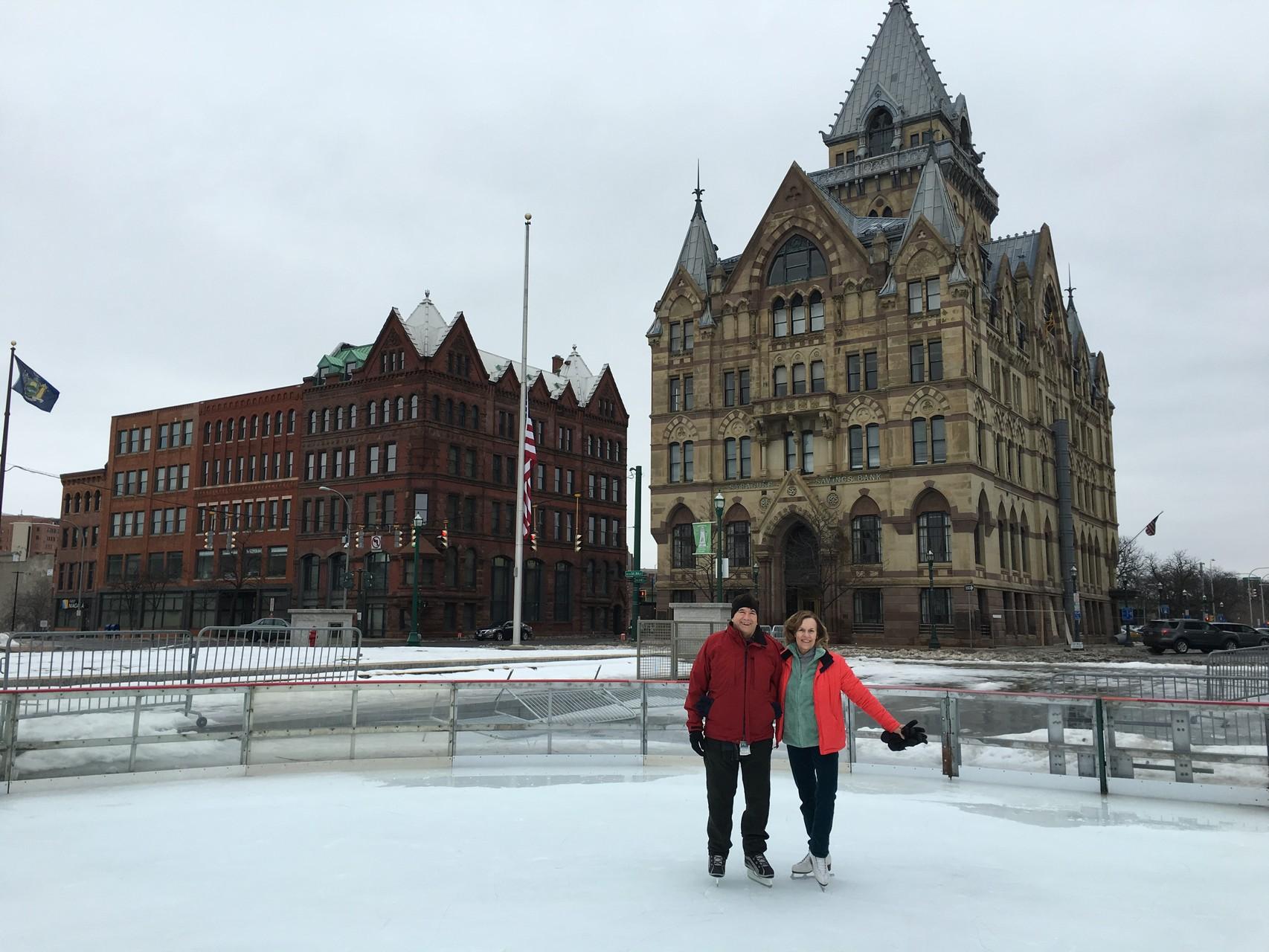 John & Lorraine, Clinton Square, Syracuse