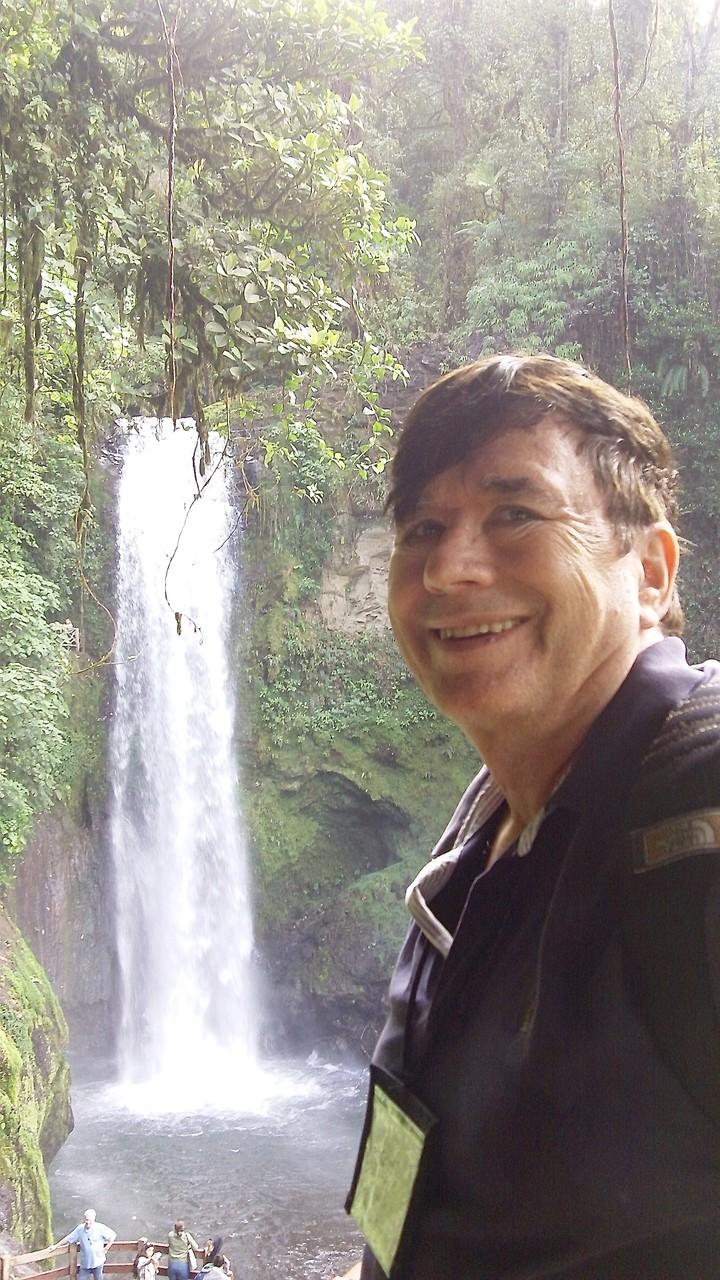 John at La Paz Falls, Costa Rica